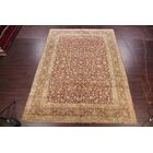One-of-a-Kind Traditional Kashan Persian Hand-Knotted 10' x 13'2