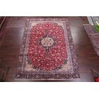 One-of-a-Kind Mitchem Traditional Kashmar Persian Hand-Knotted 8'9