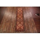 One-of-a-Kind Hamadan Persian Hand-Knotted 3'4