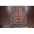 One-of-a-Kind Traditional Varamin Tehran Persian Hand-Knotted 6'5