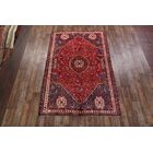 One-of-a-Kind Abadeh Traditional Shiraz Persian Hand-Knotted 6'7