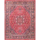 One-of-a-Kind Mashad Persian Classical Hand-Knotted 9'8