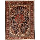 One-of-a-Kind Malayer Hamedan Traditional Persian Hand-Knotted 4'7
