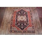 One-of-a-Kind Heriz Serapi Persian Hand-Knotted 8' x 10'3