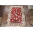 One-of-a-Kind Geometric Traditional Tabriz Persian Hand-Knotted 7'6