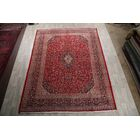 One-of-a-Kind Mashad Persian Hand-Knotted 9'5