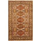 One-of-a-Kind Traditional Ardebil Meshkin Tabriz Persian Hand-Knotted 5'3