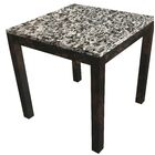 Lakes Parsons End Table Table Top Color: Castle, Table Base Color: Dark Wood