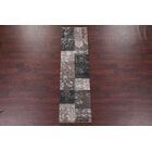 Bleckley Gray/Charcoal Area Rug Rug Size: Rectangle 5'2