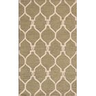One-of-a-Kind Brentley Hand-Tufted Wool Green Area Rug Rug Size: Rectangle 3