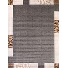 Pollitt Beige/Charcoal Area Rug Rug Size: Rectangle 3