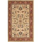 One-of-a-Kind Emmet Hand-Tufted Wool Beige/Brown Area Rug Rug Size: Rectangle 5