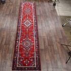 One-of-a-Kind Hamadan Persian Hand-Knotted 3'8