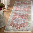 Power Vintage Persian Cotton Red/Blue Area Rug Rug Size: Runner 2'2