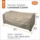 Searcy Water Resistant Patio Sofa Cover Size: 34