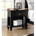 Cleckheat 1 Drawer Nightstand Color: Black