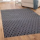 Claxton Navy Blue Area Rug Rug Size: Rectangle 5'3