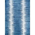 Sasso Hand-Tufted Wool Blue Area Rug Rug Size: Rectangle 8' x 10'