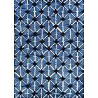 Chilhowie Itajime Hand-Tufted Wool Blue Area Rug Rug Size: Rectangle 6' x 9'