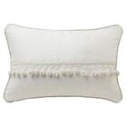 Landon Lumbar Pillow Color: White