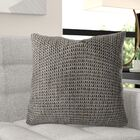 Manetta Luxury Throw Pillow Size: 18