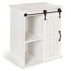Banbury Wooden Freestanding End Table with Storage