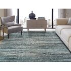 Bump Blue/Light Gray Indoor/Outdoor Area Rug Rug Size: Rectangle 8'6