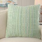 Blue Mountain Throw Pillow Size: 18.8