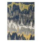 Hillsdale Blue/Yellow/Gray Area Rug Rug Size: 8' x 10'