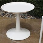 Glocester Bistro Table Color: White