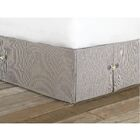 Ryder Tulane Bed Skirt Size: Twin
