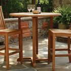 Oxford Wooden Dining Table Tabletop Size: 36