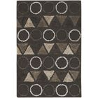 Katharine Wool Brown Area Rug Rug Size: 5'6