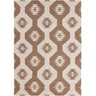 Velasquez Brown Abstract Rug Rug Size: 3' x 5'