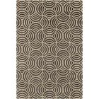 Estella Abstract Gray/Beige Area Rug Rug Size: 7' x 10'