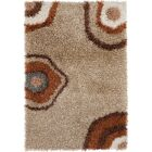 Stockwell Shag Brown Area Rug Rug Size: Rectangle 5' x 7'6