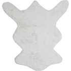Karlyn White Area Rug Rug Size: 5' x 7'6