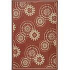 Piyush Wool Red Area Rug Rug Size: 8' x 11'