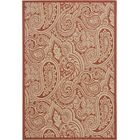 Piyush Red Area Rug Rug Size: 8' x 11'
