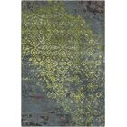 Holt Grey/Green Abstract Area Rug Rug Size: 9' x 13'