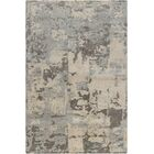 Powell White Abstract Area Rug Rug Size: 5' x 7'6