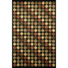 Caines Black/Red Area Rug Rug Size: Runner 2'6