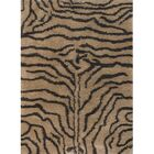 Vanetta Hand Woven Brown / Tan Area Rug Rug Size: Rectangle 9' x 13'
