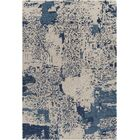 Powell Patterned Contemporary Beige/Blue Area Rug Rug Size: 5' x 7'6