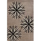 Jackeline Patterned Contemporary Wool Taupe Area Rug Rug Size: 8' x 10'