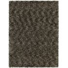 Stickland Hand Woven Charcoal Area Rug Rug Size: 5' x 7'