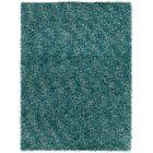 Stickland Textured Shag Blue Area Rug Rug Size: 7' x 10'