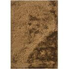 Levy Dark Brown/Tan Area Rug Rug Size: 5' x 7'6