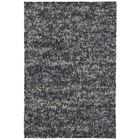 Brule Hand Woven Wool Black Area Rug Rug Size: Rectangle 7'9