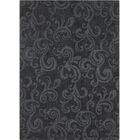 Boris Hand Tufted Rectangle Transitional Black Area Rug Rug Size: 7' x 10'